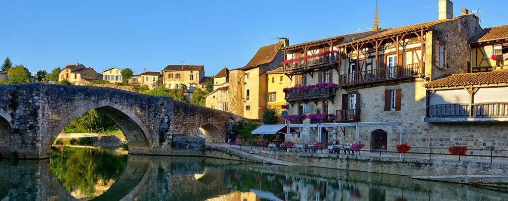 La ville d'Agen.