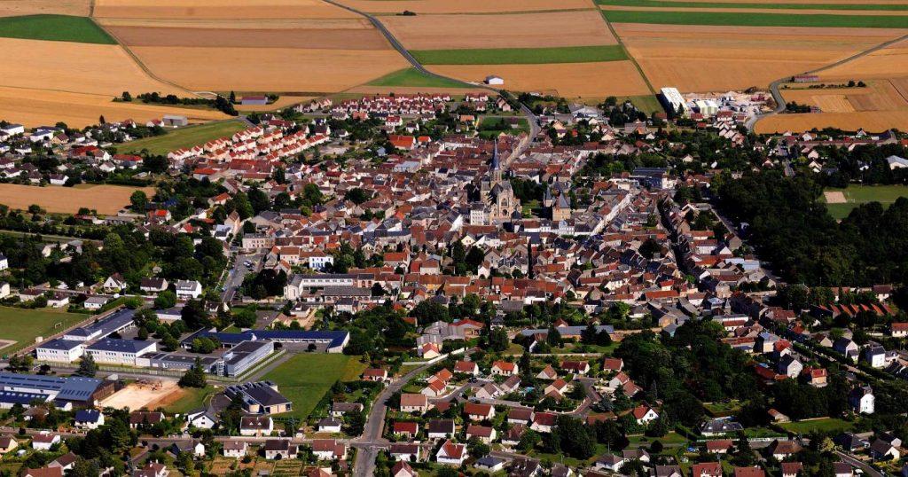 Une vue aérienne du Loiret.